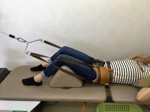安城市長坂接骨院 腰痛 ヘルニア 坐骨神経痛 施術風景