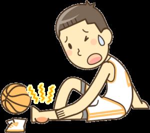 安城市長坂接骨院 スポーツによるケガ シンスプリント ジャンパーズニー 野球肘 テニス肘イラスト